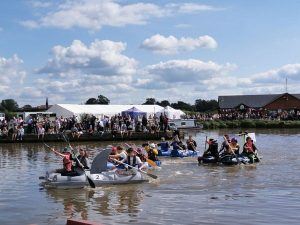 Great crowds at Overwater RNLI Festival