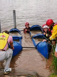 A little help at Overwater RNLI Festival